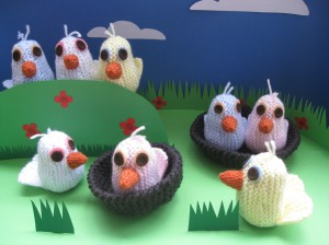 Eggwins...sorry Knit Chicks