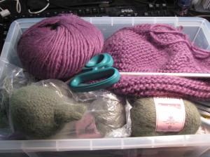 Inside my Knitting Mind...I mean Box...Knitting Box