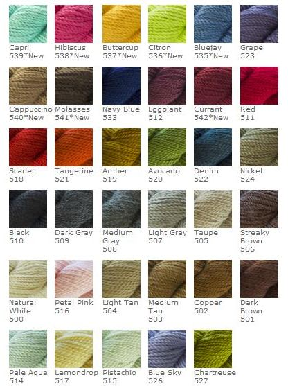 alpaca colours