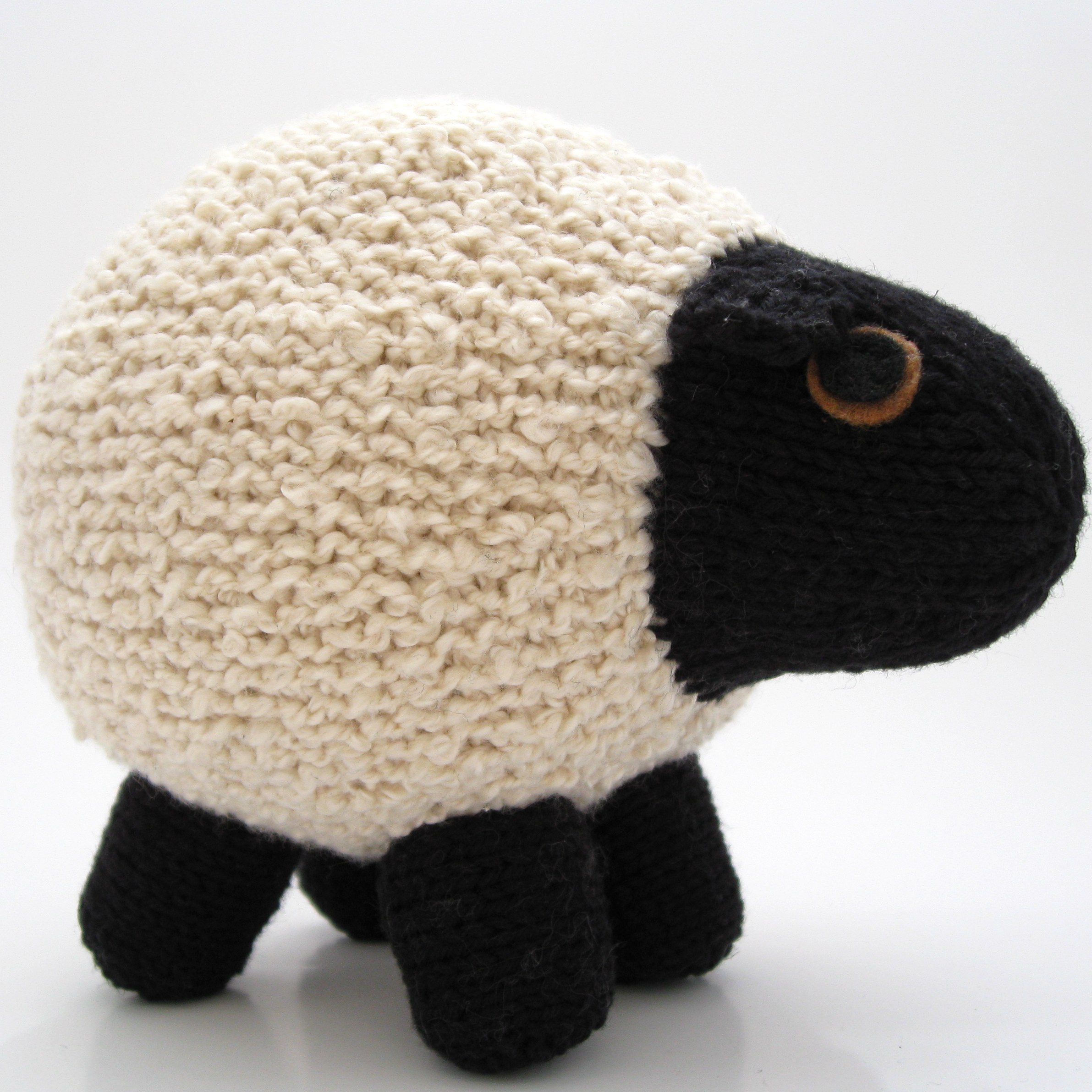 Round Sheep Pattern   Hints and Tips