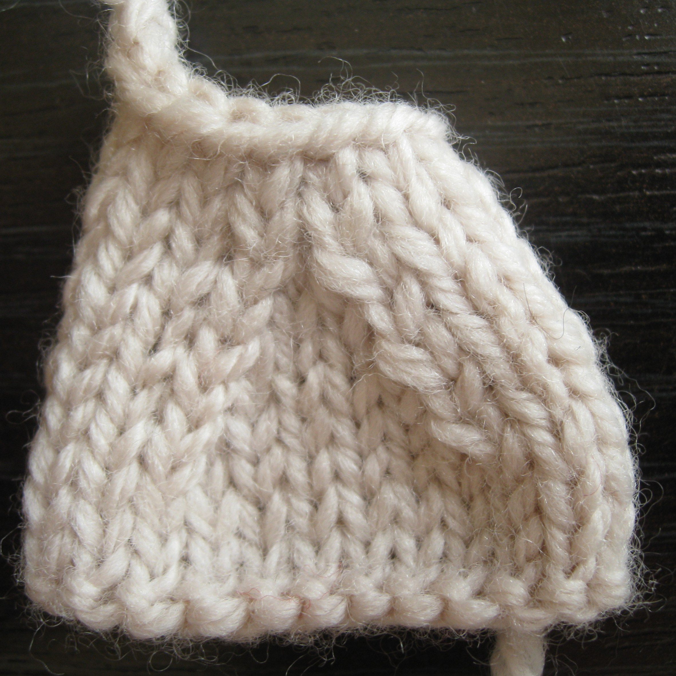 Knitting Stitches Sl1 : Left Leaning Decreases