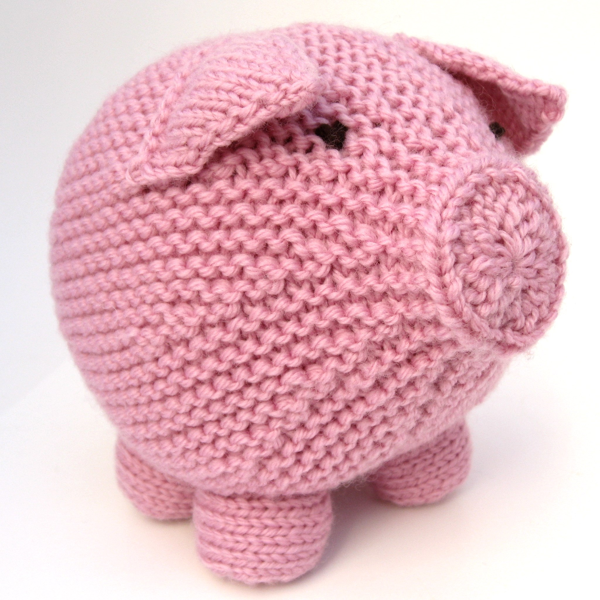 Knitting Toys In The Round : Round pig hints and tips