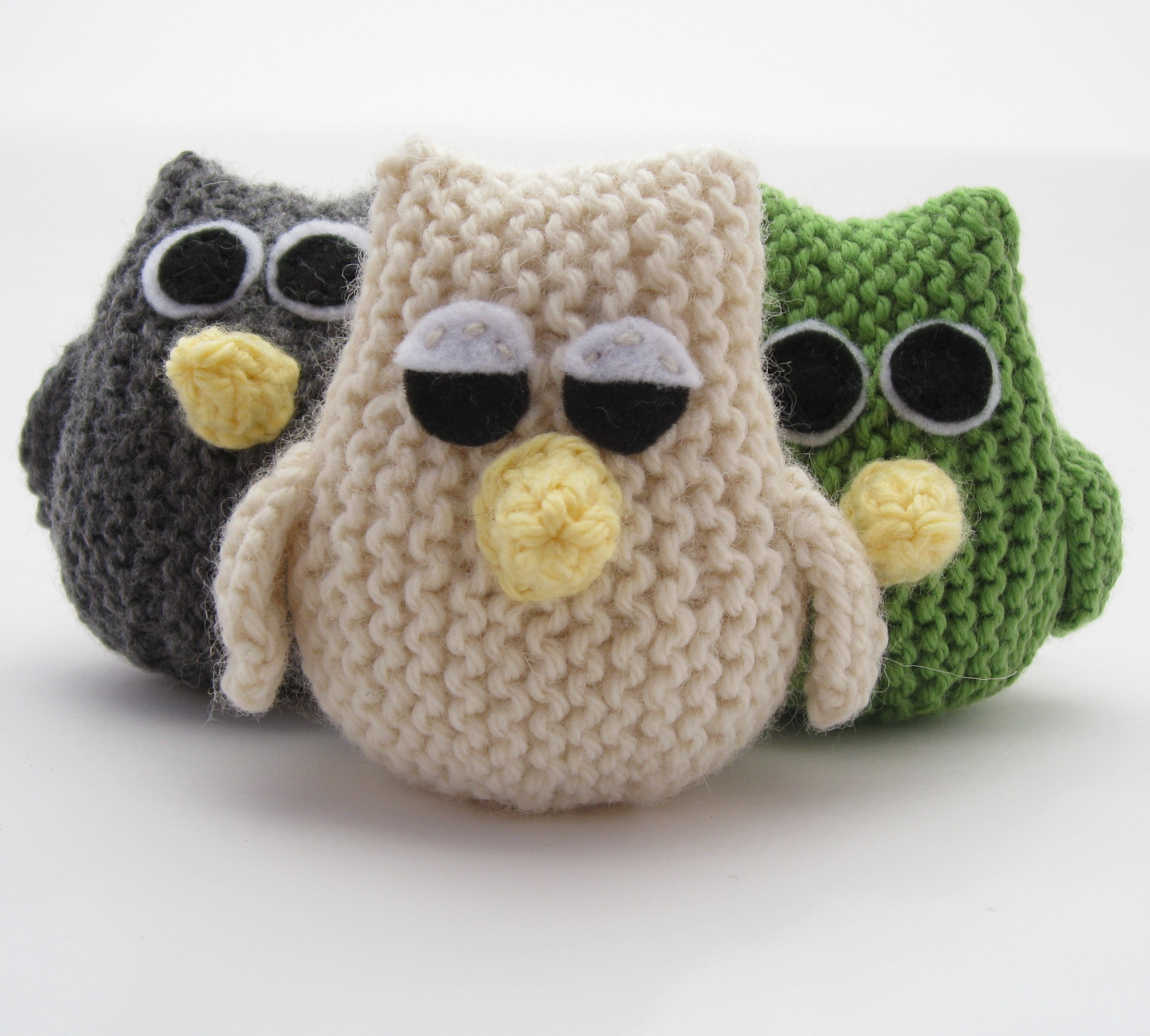 Knitting Pattern For Owl : Owl Pattern Hints and Tips