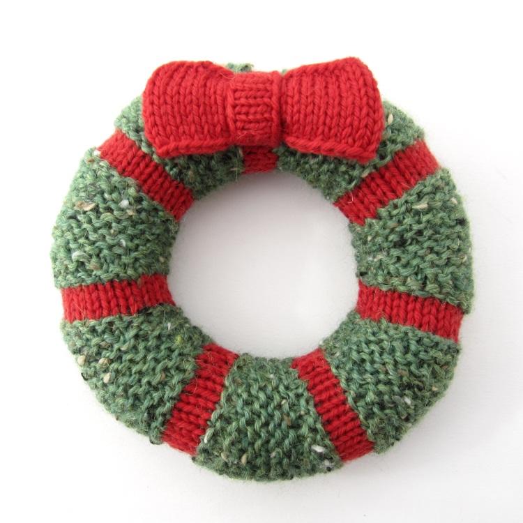 Mini Wreath Hints And Tips Natty Knitter