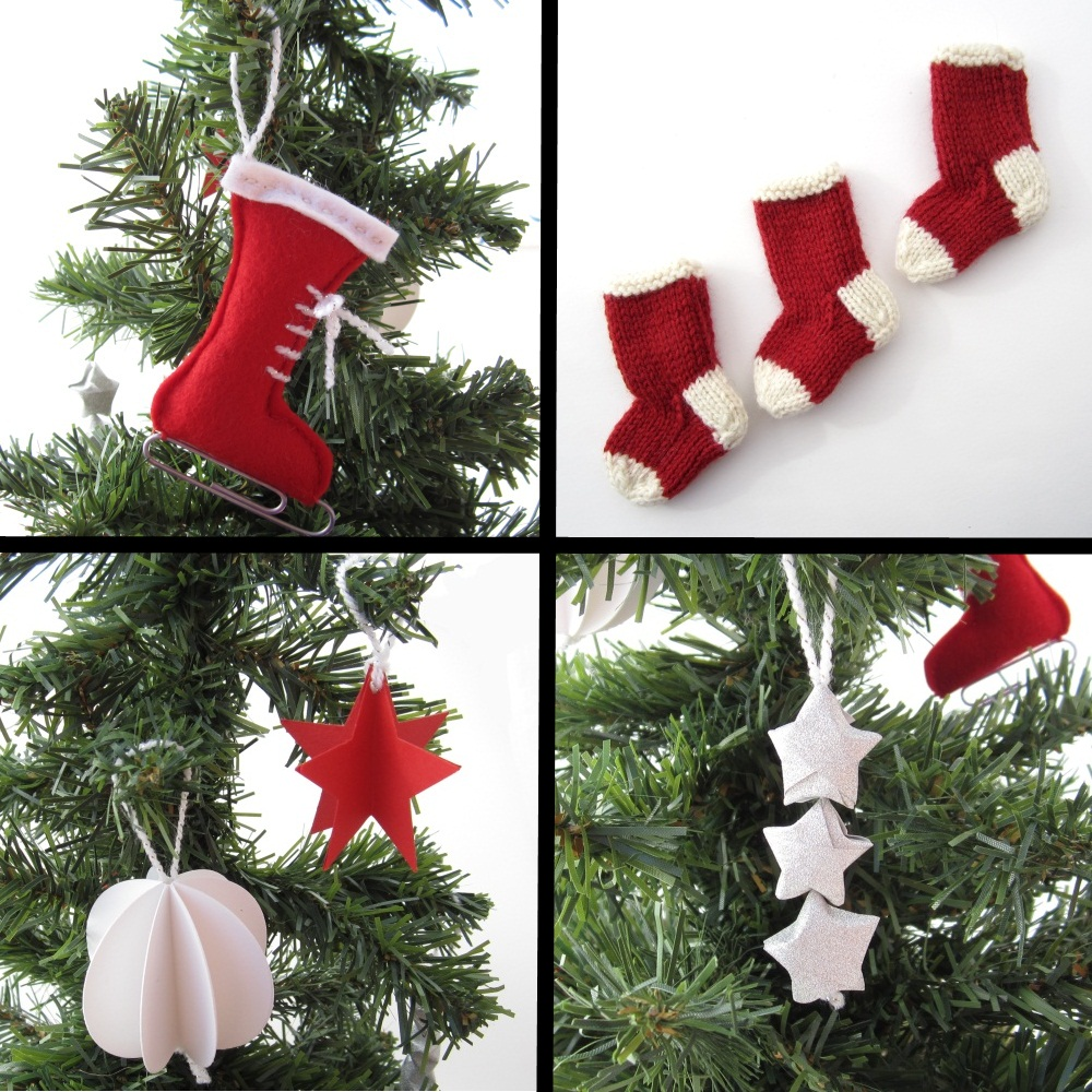 Handmade decorations for Home made christmas tree decorations