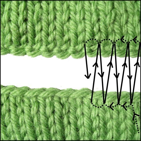 Knitting Grafting Stitches Together : Mouse Pattern   Hints and Tips