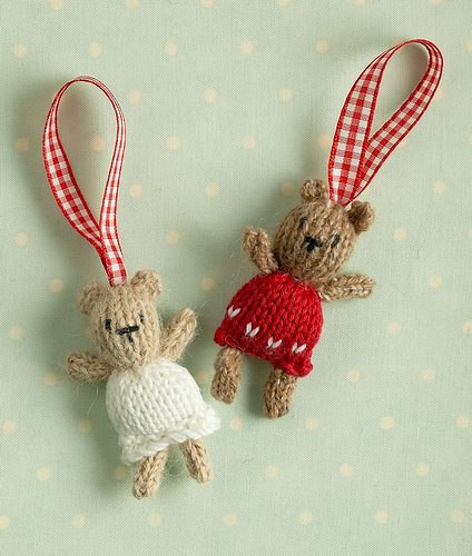 Knitted holiday decor